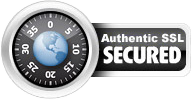 ✓ Secure and Encrypted using 128-bit SSL encryption.